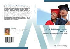 Bookcover of Affordability of Higher Education