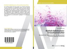 Portada del libro de Kinheit-Adoleszenz-Erwachsenenalter