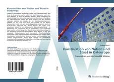 Portada del libro de Konstruktion von Nation und Staat in Osteuropa