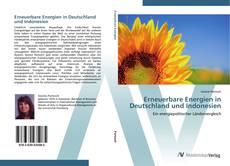 Bookcover of Erneuerbare Energien in Deutschland und Indonesien