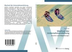 Buchcover von Wechsel der Unternehmensleitung