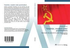 Totalitär, modern oder postmodern kitap kapağı