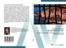 Buchcover von Europäische Sicherheitspolitik