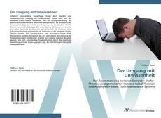 Buchcover von Der Umgang mit Unwissenheit