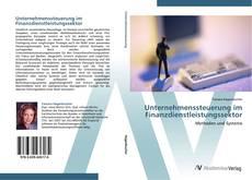 Unternehmenssteuerung im Finanzdienstleistungssektor kitap kapağı