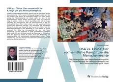 Buchcover von USA vs. China: Der vermeintliche Kampf um die Menschenrechte