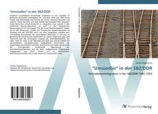 """Buchcover von """"Umsiedler"""" in der SBZ/DDR"""