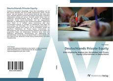 Bookcover of Deutschlands Private Equity
