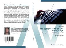 Bookcover of Die Sprache in Foren und Newsgroups