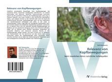 Capa do livro de Relevanz von Kopfbewegungen