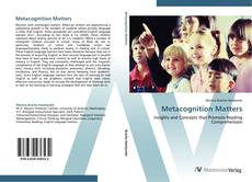 Bookcover of Metacognition Matters