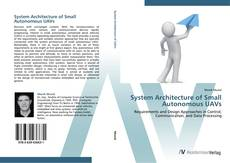 Capa do livro de System Architecture of Small Autonomous UAVs