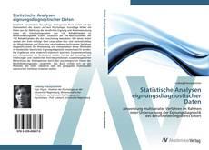 Capa do livro de Statistische Analysen eignungsdiagnostischer Daten