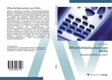 Öffentlichkeitsarbeit von NGOs kitap kapağı