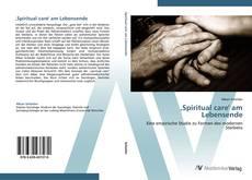 Buchcover von ,Spiritual care' am Lebensende