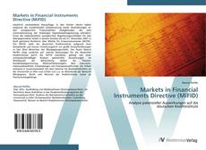 Buchcover von Markets in Financial Instruments Directive (MiFID)