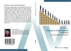 Обложка Equity in Cost-benefit Analysis