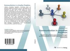 Couverture de Kommunikation in virtuellen Projekten
