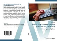Politische Kommunikation in der Mediengesellschaft的封面