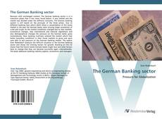 Bookcover of The German Banking sector