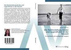 Bookcover of Die Rechtsstellung Kinder und Jugendlicher in der Neuzeit