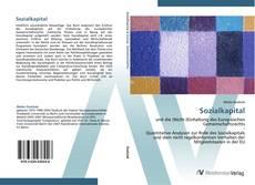 Bookcover of Sozialkapital