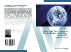 Capa do livro de Progressive Governance at Public Sector Institutions and NGOs