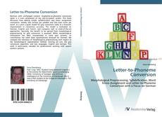 Couverture de Letter-to-Phoneme Conversion