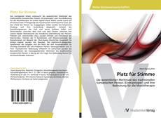 Bookcover of Platz für Stimme