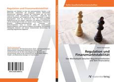Bookcover of Regulation und Finanzmarktstabilität