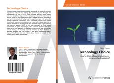 Capa do livro de Technology Choice