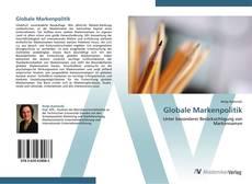 Bookcover of Globale Markenpolitik