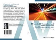 Buchcover von Effiziente 3D-Simulation und Visualisierung von Beschichtungsprozessen