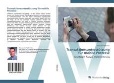 Buchcover von Transaktionsunterstützung für mobile Prozesse