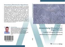 Bookcover of Anwendung Memetischer Algorithmen