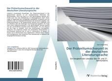 Capa do livro de Der Präteritumschwund in der deutschen Literatursprache