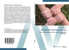 Обложка Solidarität und Sozialstaat