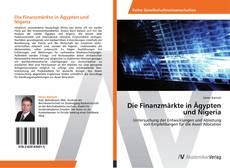 Capa do livro de Die Finanzmärkte in Ägypten und Nigeria