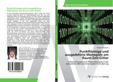 Buchcover von Punktförmige und ausgedehnte Monopole am Raum-Zeit-Gitter