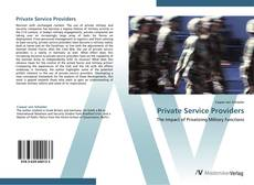 Bookcover of Private Service Providers
