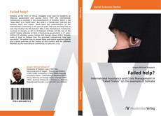 Bookcover of Failed help?