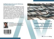 Bookcover of Hüllflächenberechnung  bei Werkzeug-Schleifbearbeitungen