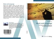 Copertina di Music and Language
