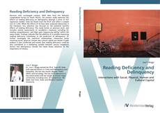 Bookcover of Reading Deficiency and Delinquency