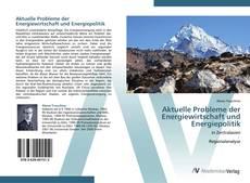 Buchcover von Aktuelle Probleme der Energiewirtschaft und Energiepolitik