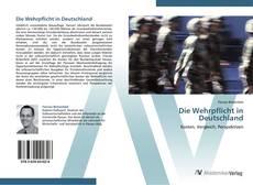 Borítókép a  Die Wehrpflicht in Deutschland - hoz
