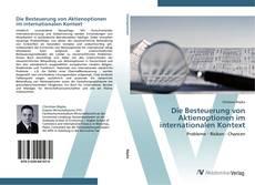 Capa do livro de Die Besteuerung von Aktienoptionen im internationalen Kontext