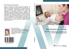 Buchcover von Der Patient als Kunde