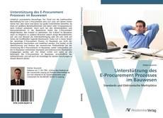 Couverture de Unterstützung des  E-Procurement Prozesses  im Bauwesen