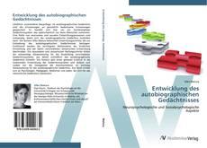Buchcover von Entwicklung des autobiographischen Gedächtnisses